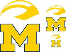 Michigan Wolverines Decal - Sticker - Three (3)