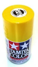 Tamiya TS-47 CHROME YELLOW Spray Paint Can  3.35 oz. (100ml) 85047