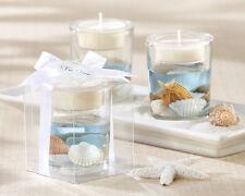 1 Seashell Tealight Holder wedding favors beach theme party bridal shower Favor