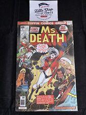 LADY DEATH SWORN #1 NM MS. DEATH Damaged variant COFFIN Comics