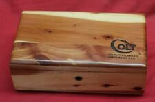 COLT Firearms Wood Box