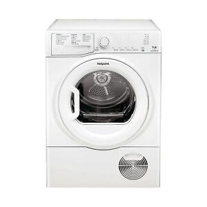 HOTPOINT TCFS73BGP Aquarius 7kg Freestanding Condenser Tumble Dryer - Polar Whit