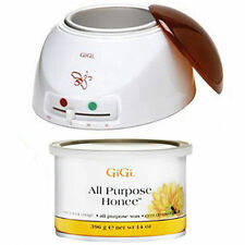 GiGi Wax Warmer 0225 + GiGi 14oz All Purpose Honee Wax Can 0330 Hair Removal Kit
