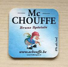 SOTTOBICCHIERE - BIRRA MC CHOUFFE - THE UNDER GLASS OF BEER - AS NEW