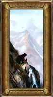 MICHAEL B. COLEMAN Original Oil Painting on Board Signed Bear Alaska Landscape