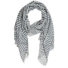 Emporio Armani stole men 6252660P37600139 ZINCO Shadow Grey cotton scarf shawl