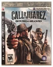 Call of Juarez Bound in Blood (PS3) COMPLETE, ORIGINAL CASE, CD LIKE A MIRROR