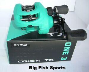 13 FISHING One 3 Origin TX Baitcast Reel LEFT HAND Gear Ratio 7.3:1 #OTX7.3-LH