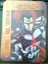 Marvel Overpower Powersurge Mr. Sinister Hidden Agenda NrMint-Mint Card