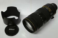 Nikon AF-S Nikkor 70-200 mm/2,8 e fl ed VR objetivamente usado