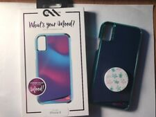 Case-Mate Whats Your Mood Case For iPhone X with Accessories and Pop Socket