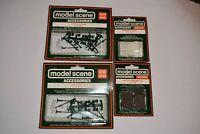 Peco Modelscene Accessories 5027 5023 5028 5004 X2 NOS OO Gauge Fence/Lamps 2