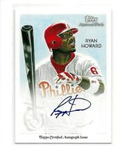 Ryan Howard Auto 2010 Topps National Chicle on-card Autograph #NCA-RH Phillies