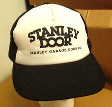 STANLEY DOOR logo baseball hat automated industry 1980s snapback cap Garage Door