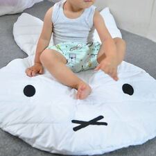 Cute Rabbit Crawling Soft Blanket Carpet Floor Baby Play Room Creeping Mat Decor