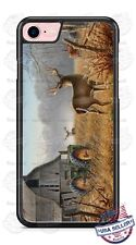 Virginia Deer Barn Tractor Phone Case Cover For iPhone Samsung Google LG HTC etc