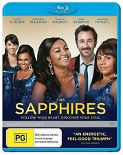 The Sapphires - Blu-ray, 2012 (LIKE NEW) Aus Region B