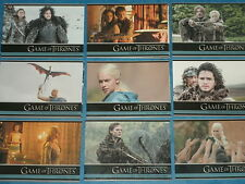 GAME OF THRONES Season 3 Complete Base Set Of 100 Trading Cards  Daenerys! Three