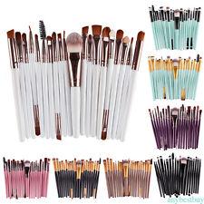 Set 1/20/32  pennelli trucco make up brush cosmetic fondotinta occhi blush