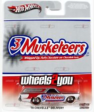 70 CHEVELLE DELIVERY 3 Musketeers - Hot Wheels Pop Culture MARS CANDY