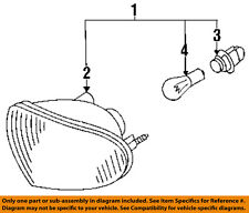 Infiniti NISSAN OEM 93-97 J30-Signal Lamp Right 2613010Y25