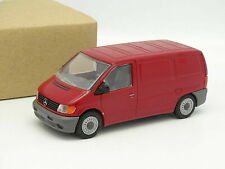 MERCEDES BENZ VITO TOLE RED NZG MODEL 1/43 ROT ROSSO ROUGE B66000106 w638 1996
