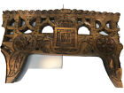 Vintage Primitive Wooden Carved Portuguese Oxen Yoke  16  x 43