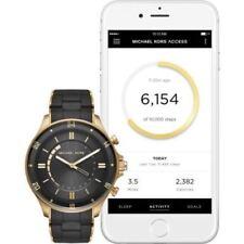 Michael Kors Access Unisex Reid Black Bracelet Hybrid Smart Watch MKT4017