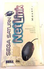 Sega Saturn Netlink Mouse, Mouse Pad & Instructions BRAND NEW & SEALED