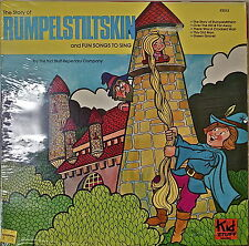 THE STORY OF RUMPELSTILTSKIN-SEALED1977LP Kid Stuff Repertory Company