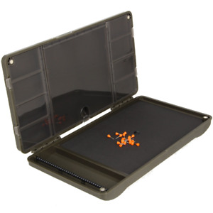"""NGT XPR PLUS TACKLE BOX WALLET FOR CARP FISHING HAIR RIGS & TERMINAL """"EMPTY"""""""