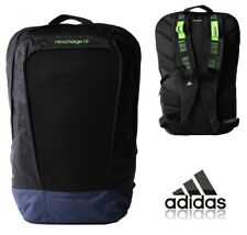 adidas Backpack School Bag Sports Gym College Nitrocharge Rucksack Black NEW