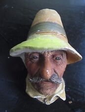 Bossons Romanian Character Head Chalkware REPAIRED