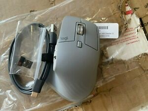 RB Logitech 910-005692 MX Master 3 Wireless Laser Mouse - Mid Gray