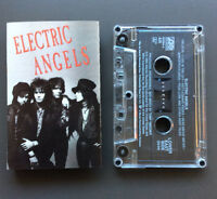 ELECTRIC ANGELS - Electric Angels Cassette Tape 1990 VG  Hard Glam Rock