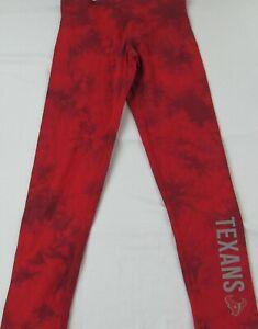 Houston Texans NFL Team Apparel Women's Red Active-Wear Pants
