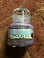 YANKEE CANDLE SWEET NOTHINGS SMALL JAR CANDLE