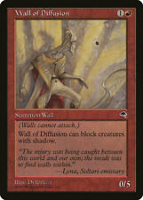 Magic MTG Tradingcard Tempest 1997 Wall of Diffusion
