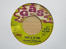 "LESTER STERLING Reggie In The Wind / THE SOUL SET Try Me One More Time UK 7"" Gas"