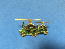 Us Army 2 Uh-1 Huey'S Flying Formation Hat Pin