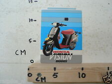 STICKER,DECAL HONDA VISION BROMMER,MOPED MOFA