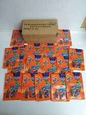 17 x Biker Mice From Mars New Sealed Figures - Mini Throttle With Parachute