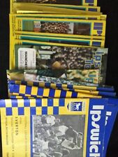 First Division Teams F-K Ipswich Town Football Programmes