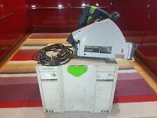 Festool TS 55 Rebq-GB circolare 240V PLUS/tuffo visto in Systainer T-LOC.