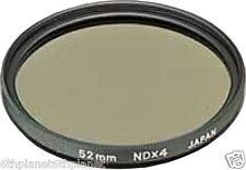 49mm VIDEOCAMERA ND4 (Neutral Density) Lente Filtro
