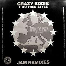 "12"" - CRAZY EDDIE & Q.Q.FREE STYLE - NENA DE IBIZA ""JAM REMIXES"" - MINT LISTEN"
