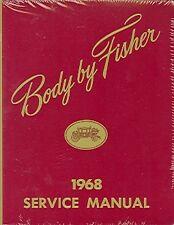 1968  68    OLDSMOBILE/442/ CUTLASS BODY REPAIR  MANUAL