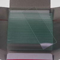 Microscope Micro Slides Glass 25.4mmx76.2mm clear 50pcs