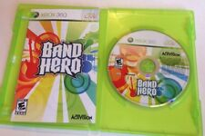 Band Hero (Xbox 360, 2009) Game Complete With Manual.