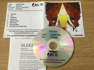 Promotional cd album- Sleepy Sun – Embrace  ( with press release)